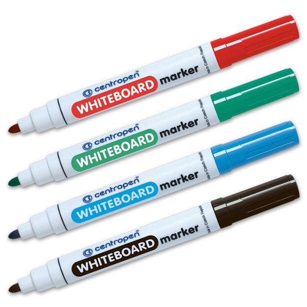 Flomaster za belu školsku tablu art.8559/01 (crni,plavi,crveni,zeleni) Image