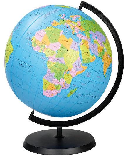 Globus - Fizičko - geografski Image