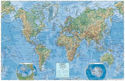 Zidne Karte I Globusi Rapan Kom