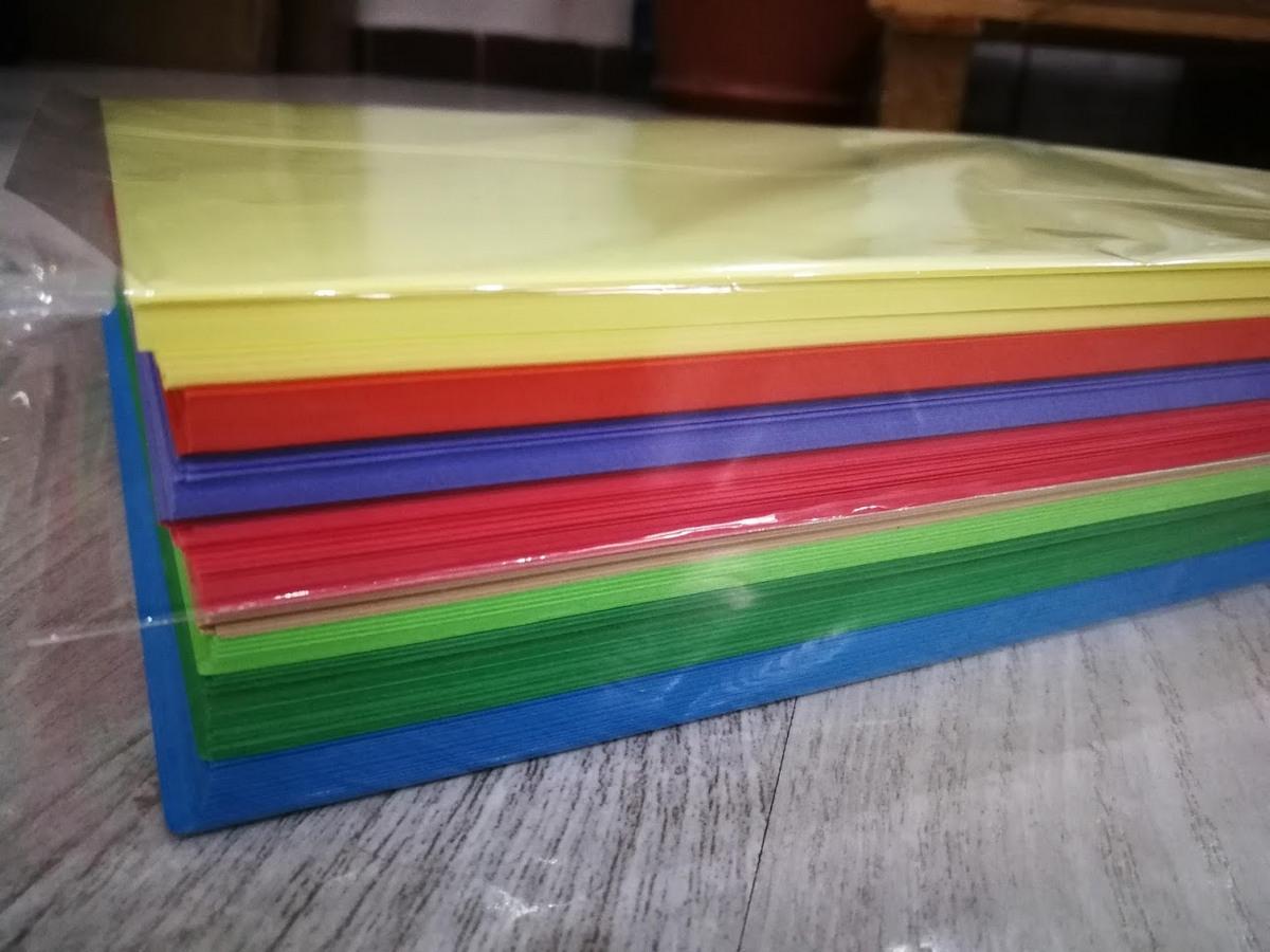 Papir za fotokopiranje A4 u boji MIX 500 listova Image